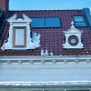 Dachsanierung eines Altbremerhauses Draufsicht