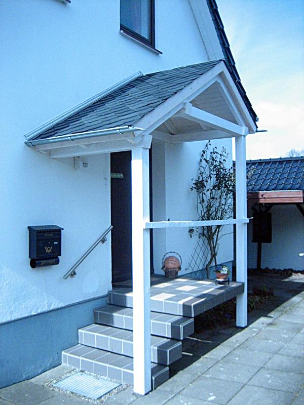 überdachungen Eingangsbereich eingangsüberdachungen zimmerei bendig traditionelles
